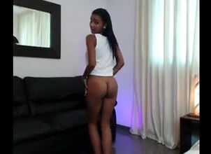 Ebony teen webcams